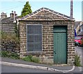 SE0238 : Oakworth Local Board Water Meter House - Bridge Street by Betty Longbottom