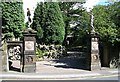 SE0338 : Entrance to Holden Park - Oakworth by Betty Longbottom