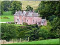 NS5426 : Sorn Castle from the River Ayr Way by Gordon Brown