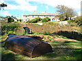SW5528 : Coastguards' Cottages, Prussia Cove by Mari Buckley