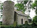 TF8033 : All Saints' church, Barmer by Evelyn Simak