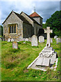 TQ0218 : Church of St Mary, Stopham by Simon Carey