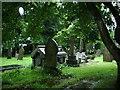 SD8013 : Graveyard, Christ Church, Walmersley, Bury by Alexander P Kapp