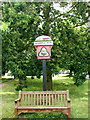 TG0337 : Village Sign, Sharrington by Evelyn Simak