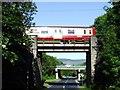 NS1970 : Brueacre Junction bridges by Thomas Nugent