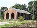 SJ7765 : Brick barn at Park House Farm by Jonathan Billinger