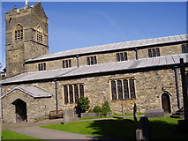 St. Martin's Church at  Bowness-on-Windermere by Rib