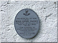 W4046 : Wall Plaque on The Bold Tenant Farmer's Cottage Ballinascarty by Mike Searle