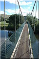 SO0592 : On Festival Bridge, near Aberhafesp by Philip Halling