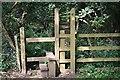 SW5033 : Stile on St Michael's Way Footpath by Tony Atkin