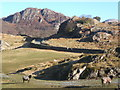 SD2195 : Fields among rocky outcrops, Duddon Valley by Andrew Hill