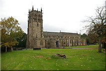 SD8913 : Rochdale Parish Church of St Chad by Alexander P Kapp