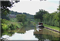 SJ8458 : Macclesfield Canal near Ramsdell Hall, Cheshire by Roger  Kidd