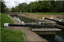 ST6968 : Swineford Lock by Philip Halling