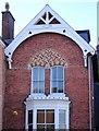 SO1091 : Fancy brickwork, Newtown by Penny Mayes