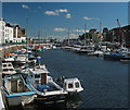 SC3875 : Quayside and Marina by Andy Stephenson