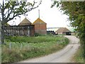 TQ8916 : Oast House at Crutches Farm, Hastings Road, Winchelsea, East Sussex by Oast House Archive