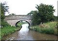 SJ8560 : Henshalls Bridge, Macclesfield Canal, Astbury, Cheshire by Roger  Kidd