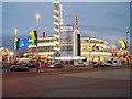 SD3033 : Art Deco entrance to Blackpool Pleasure Beach by Michael Garfield