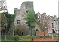 SO2242 : Hay Castle, Hay-on-Wye by Pauline E