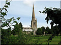 TF6934 : St Mary's Church, Snettisham (2) by Evelyn Simak