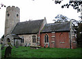TM4398 : St Matthias' Church, Thorpe-next-Haddiscoe (1) by Evelyn Simak