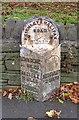 SE0438 : Milestone - Halifax Road, Bocking by Betty Longbottom
