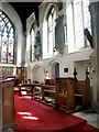 TL2097 : Interior of St John the Baptist, St Michael & All Angels, Stanground by Dave Hitchborne