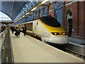 TQ3083 : Eurostar at St Pancras railway station by Oxyman