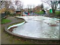SK5444 : Paddling Pool, Bogs Park by Mick Garratt