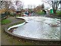SK5444 : Paddling Pool, Bogs Park by Mick Garratt