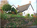 SJ5763 : Thatched cottage in Eaton by Adie Jackson