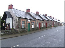 H6419 : Rockcorry; mill-workers cottages by Jonathan Billinger