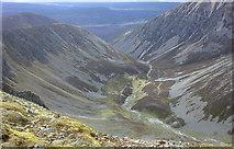 NN8894 : Looking down Coire Garbhalach by Nigel Brown