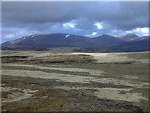 NN8892 : View north east of Mullach Clach a' Bhlair by Nigel Brown
