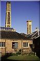 ST6276 : Glenside Hospital chimney and tower. by Chris Allen