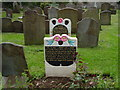 ST5678 : Negro servant graves, Henbury churchyard by Colin Park