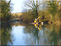 SU3067 : The Kennet and Avon Canal, Froxfield by Andrew Smith