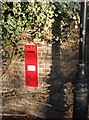 TL4355 : Victorian postbox in Grantchester by Bob Jones