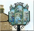 ST8053 : 2008 : Rode Village Sign by Maurice Pullin