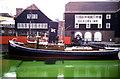 TQ3480 : Dickens Inn and steam tug Challenge by Chris Allen