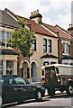 Part of a terrace of houses in Selkirk Road, Tooting.  Some of my ancestors lived here at one time.