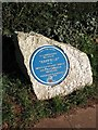 Photo of Agatha Christie blue plaque