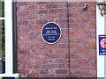 Photo of Leonard Cheshire blue plaque