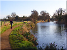 SU6770 : The River Kennet, Burghfield by Andrew Smith