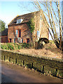 SO7627 : Old watermill by the River Leadon by Pauline E