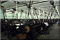 SD8634 : Weaving shed, Queen Street Mill by Chris Allen