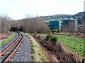 SN6080 : Vale of Rheidol Railway track by John Lucas