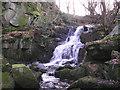 SE0343 : Waterfall on Steeton Beck by John Illingworth