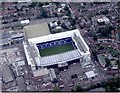 TQ3491 : Aerial view Tottenham Hotspur Football Club by Alan Swain
